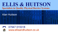 Ellis & Huitson Business Card