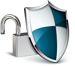 Padlock & Shield Security